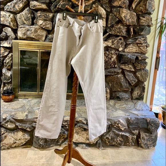 Ralph Lauren Denim Supply Beige Pants